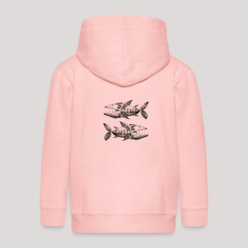 FishEtching - Kids' Premium Hooded Jacket