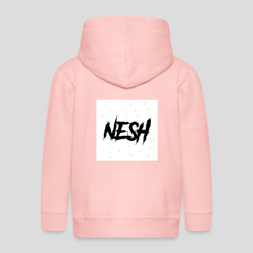 Nesh Logo - Kinder Premium Kapuzenjacke