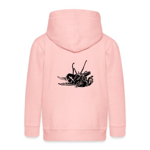 mouche morte - Veste à capuche Premium Enfant