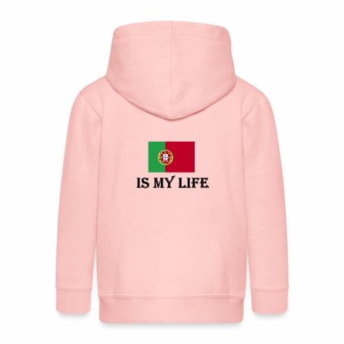 #PortugalIsMyLife - Premium-Luvjacka barn