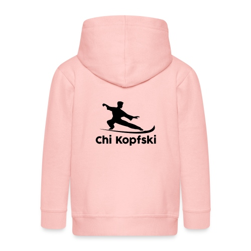 chi kopfski - Kinder Premium Kapuzenjacke