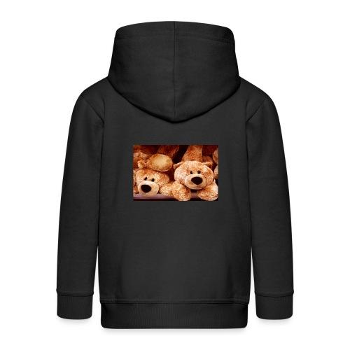 Glücksbären - Kinder Premium Kapuzenjacke