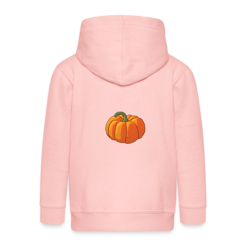 Pumpkin - Felpa con zip Premium per bambini