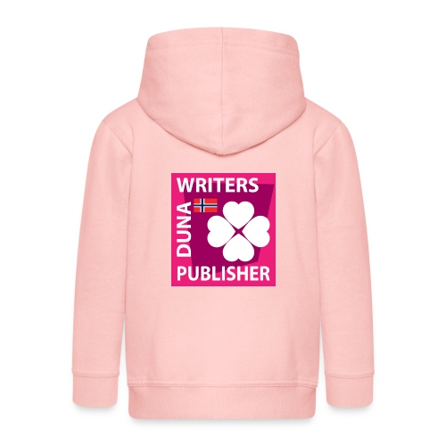 Duna Writers Publisher Pink - Premium Barne-hettejakke