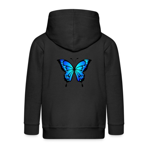 Mariposa - Chaqueta con capucha premium niño