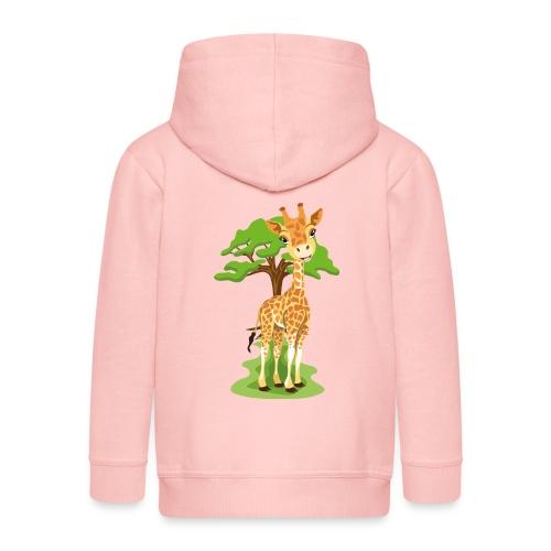 Giraff - Premium-Luvjacka barn