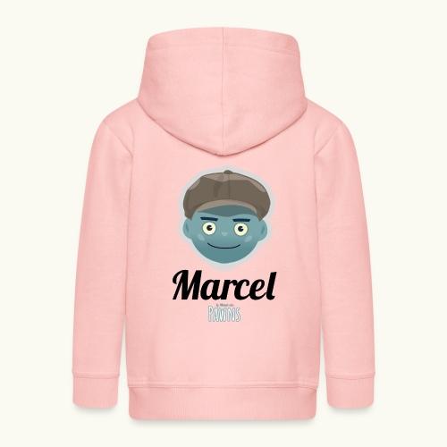 Marcel (Le monde des Pawns) - Veste à capuche Premium Enfant