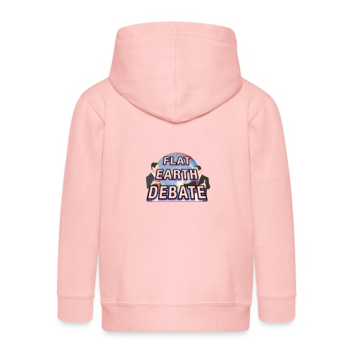 Flat Earth Debate - Kids' Premium Zip Hoodie
