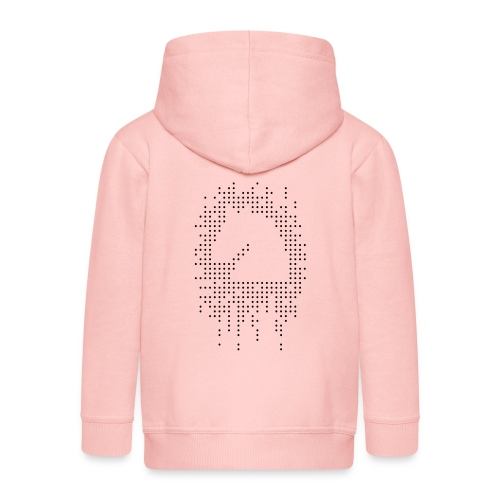 Knight and Dots Inverted - Kids' Premium Zip Hoodie