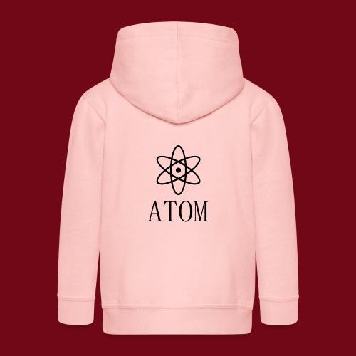 atom - Kinder Premium Kapuzenjacke