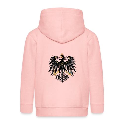 Preussischer Adler - Kinder Premium Kapuzenjacke