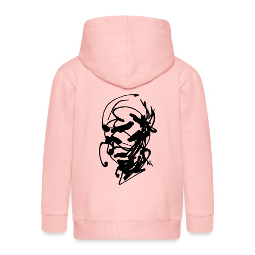 face - Kids' Premium Hooded Jacket