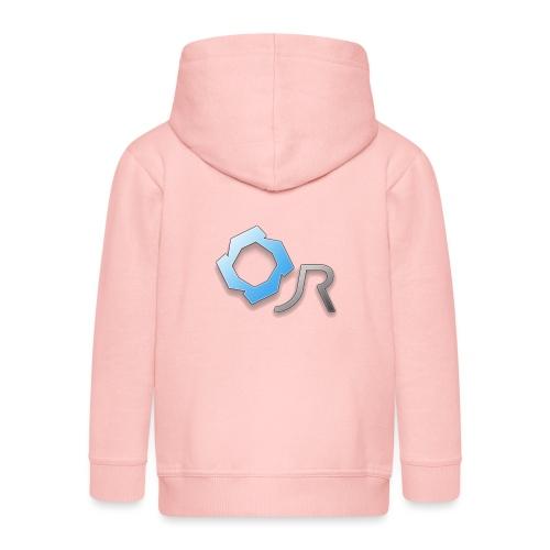 Original JR Logo - Kids' Premium Zip Hoodie