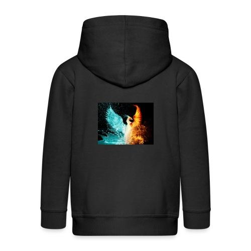 Elemental phoenix - Kids' Premium Hooded Jacket