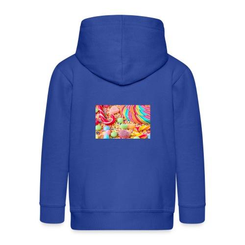 snoep afdruk/print - Kinderen Premium jas met capuchon