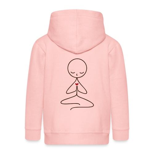 Peace & Love - Premium-Luvjacka barn