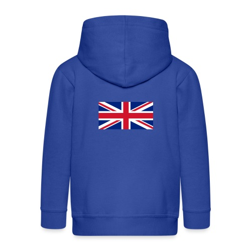 United Kingdom - Kids' Premium Zip Hoodie