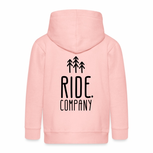 RIDE.company Logo - Kinder Premium Kapuzenjacke