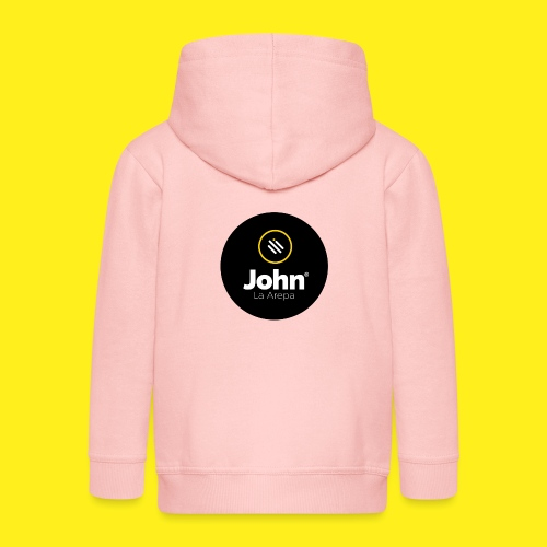 logo john - Chaqueta con capucha premium niño