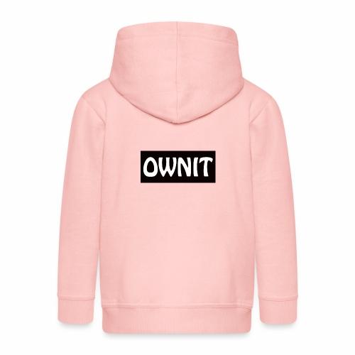 OWNIT logo - Kids' Premium Zip Hoodie