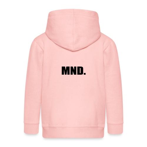 MND. - Kinderen Premium jas met capuchon