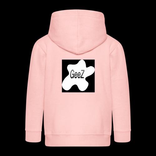 Black/white Art - Kids' Premium Zip Hoodie