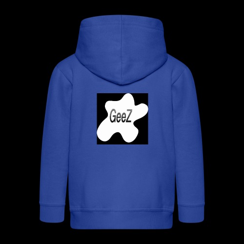 Black/white Art - Kids' Premium Zip Hoodie