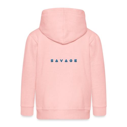 savage - Kinder Premium Kapuzenjacke