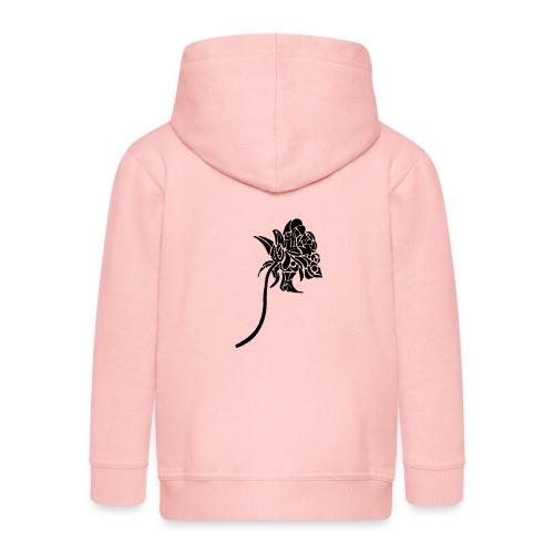 Rose tribal - Veste à capuche Premium Enfant