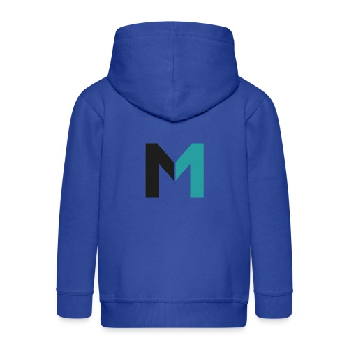 Logo M - Kinder Premium Kapuzenjacke