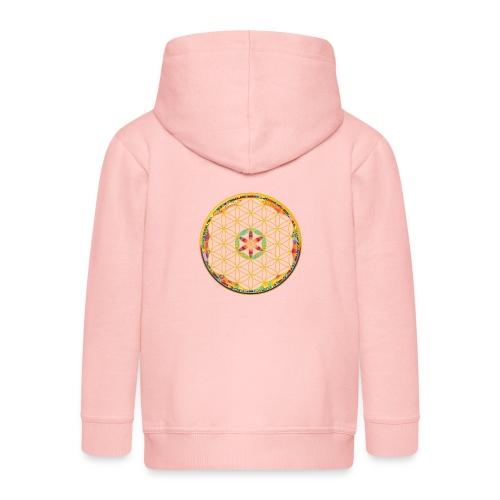 flower of life - Kids' Premium Zip Hoodie