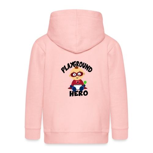 Playground Hero - Kinder Premium Kapuzenjacke