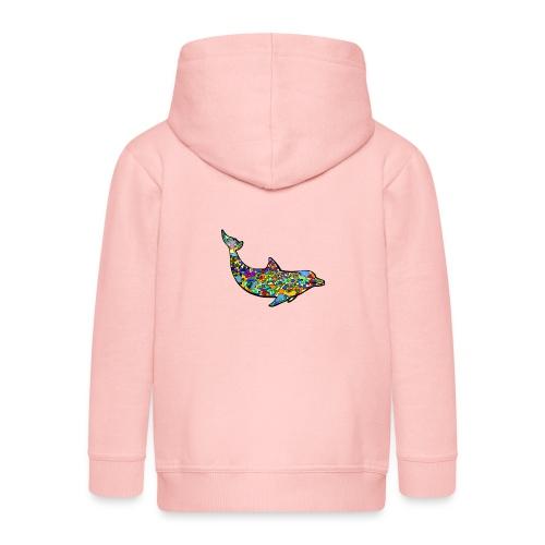 Dolphin - Kids' Premium Zip Hoodie