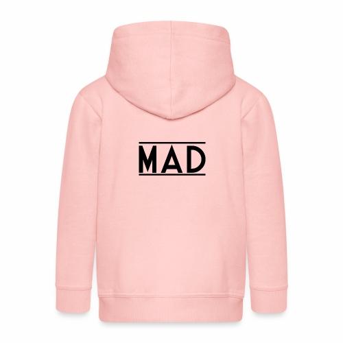 MAD - Felpa con zip Premium per bambini