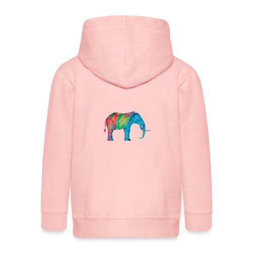 Elefant - Kids' Premium Zip Hoodie