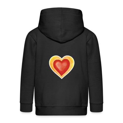 Love - Kids' Premium Zip Hoodie