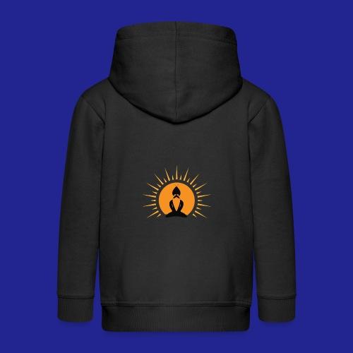 Guramylyfe logo no text black - Kids' Premium Hooded Jacket