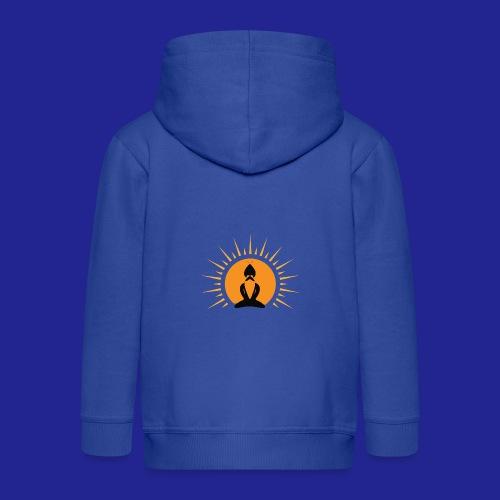 Guramylife logo black - Kids' Premium Hooded Jacket