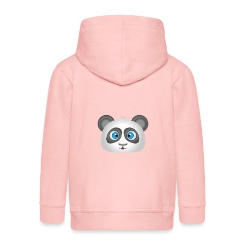 panda head / cabeza de panda 2 - Chaqueta con capucha premium niño