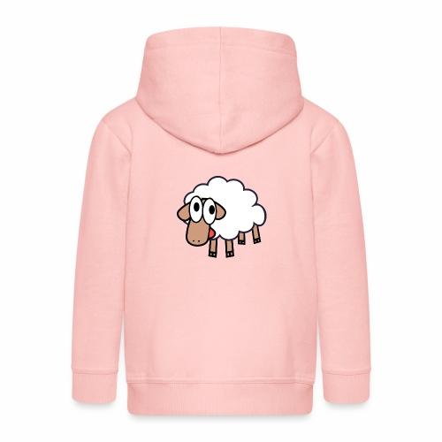Sheep Cartoon - Kinderen Premium jas met capuchon