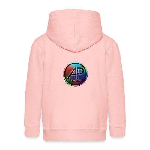 Logo Aphobia 5 - Kinderen Premium jas met capuchon