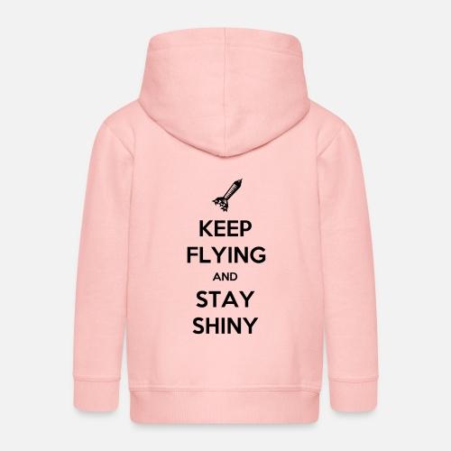 Keep Flying and Stay Shiny - Kinderen Premium jas met capuchon