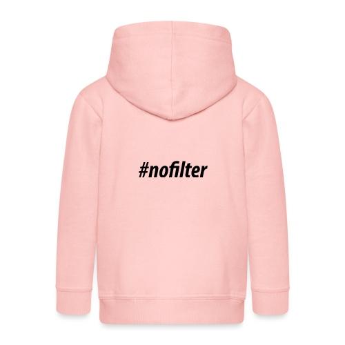 #nofiler - Kinderen Premium jas met capuchon