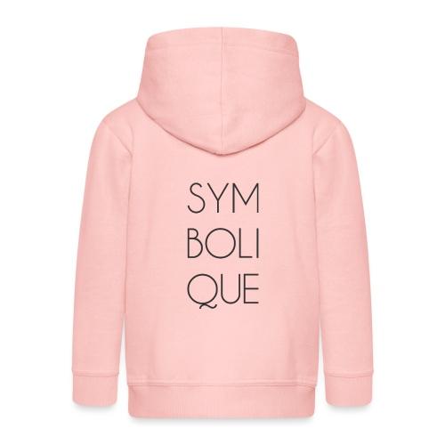 Symbolique - Veste à capuche Premium Enfant
