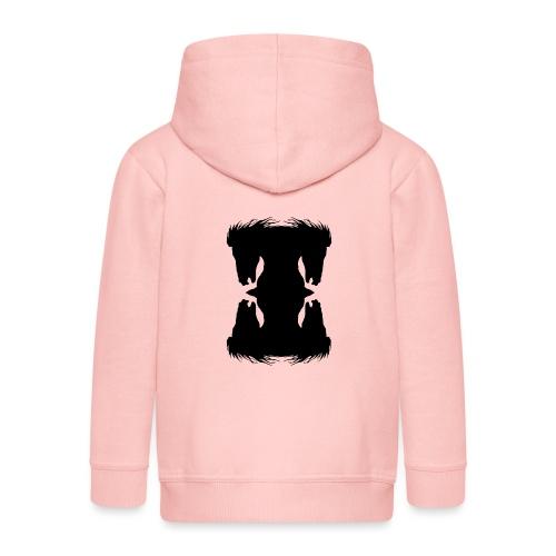 Cheval cabré en ombres chinoise - Veste à capuche Premium Enfant