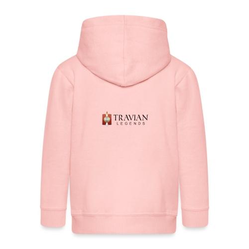 Travian Legends Logo - Kids' Premium Zip Hoodie