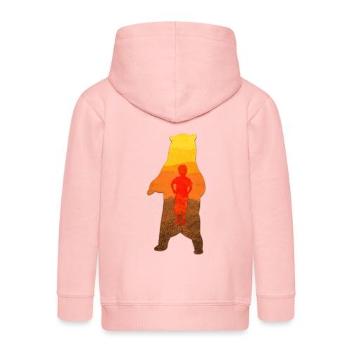 De Berenjongen - Kinderen Premium jas met capuchon