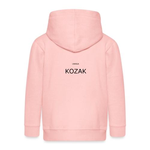 KOZAK - Rozpinana bluza dziecięca z kapturem Premium