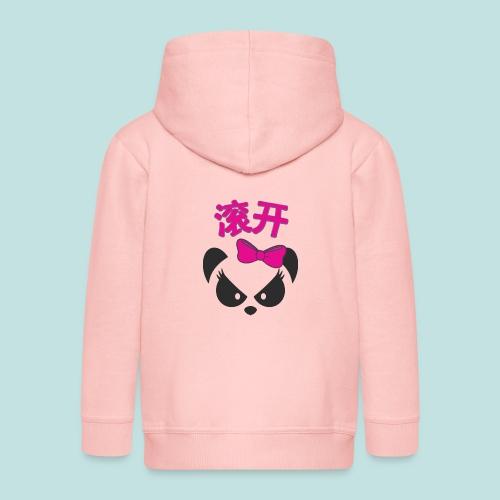 Sweary Panda - Kids' Premium Zip Hoodie