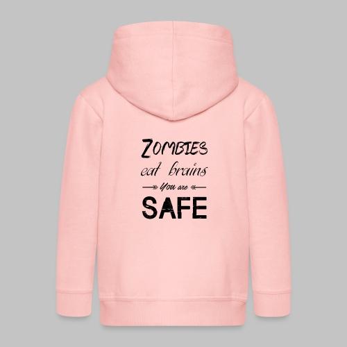 Brains - Kids' Premium Zip Hoodie